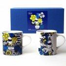 Disney Flower Winnie the Pooh Pair Mug Set Cafe Cup Set Tableware Gift