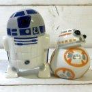 Disney Star Wars R2D2 & BB-8 salt & pepper case seasoning bottle pottery