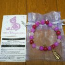 Tokyo Disney Resort Rapunzel Bracelet Natural Stone Rose quartz Bangle TDL