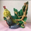 Disney bugs life caterpillar ladybug earthenware figurine ornament