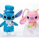 Disney Stitch & Angel Wedding doll Bridal stuffed toy Welcome doll Plush doll
