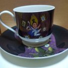 Disney Alice in Wonderland Art Exhibition tea cup and saucer set cafe cup Made