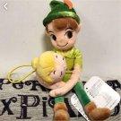 Disney Peter Pan & Tinkerbell Curtain Tassel Plush Doll Door way String Holder