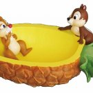 Disney Setocraft Chip & Dale Pineapple Accessory Tray Jewelry Case bowl Japan