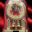 Disney Beauty and the Beast Princess Premium Swing Dome clock gold Bell Japan