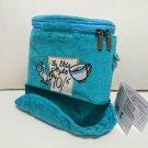 Alice Mud Hatter Hat Top Hat Pochette Shoulder Bag Blue Pouch