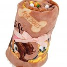 Disney Store JAPAN Fifi & Pluto Moco Moco Blanket with Ribbon Brown