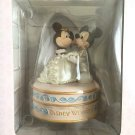 Disney Mickey & Minnie Mouse Wedding Ring Case Bridal Jewelry Case Figure Gift
