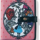Disney Alice Card case Card holder album Gift set Cheshire cat White Rabbit pink