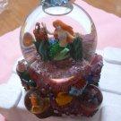 Disney 1900s Rare Princess Little Mermaid Ariel Music Box Snow Globe Dome Doll