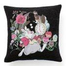 Disney Alice in the Wonderland White Rabbit Gobelin weave Cushion Cover case