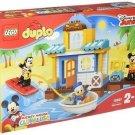 Disney LEGO Friends Beach House Mickey Donald Duck Dupro Fast boat 10827