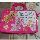 Tokyo Disney Resort Christmas 2011 Mickey & Minnie Mouse Lunch case bag