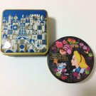 TDR It's a small world Alice Cheshire Cat Cookie Candy Can Case Empty can set