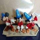 Walt Disney Gallery Fantasia Mickey Mouse Figure Model Sheet Limited Edition