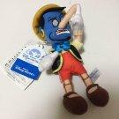 Tokyo Disney Resort Pinocchio Genie Plush doll badge Aladdin Keychain ring doll