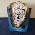 Disney Alice in Wonderland Melting Clock Time Journey Desk Clock Trump