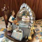 Beauty and the Beast Bell Lumiere Mrs. Pot Snow globe Music box snow dome figure