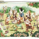 Disney Snow White Pouch Gobelins FOLK WOOD LAND Seven dwarfs bag Pochette case