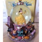 Beauty and the Beast Be our guest Snow Dome Music Box Bell Snow Globe Figure