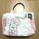 Disney Store JAPAN SAKURA Minnie Mouse Cherry Blossom Canvas Tote Bag Handbag