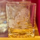 Tokyo Disney Resort Arribas Brothers Aladdin Chandu Whiskey glass Cup TDS Japan