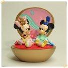 Tokyo Disneyland Mickey & Minnie Mouse Baby Hina Doll Kimono Figure TDR
