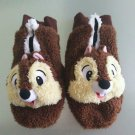 Tokyo Disney Resort Chip faice Gloves Plush Doll Mittens Brown TDL
