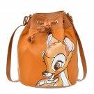 Disney Store Japan Bambi Shoulder Bag Drawstring Bag Shoulder & Body Bag Brown