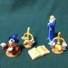 Disney Mickey Mouse Fantasia Garden Figure Collection Hakoba Figure Set Ornament