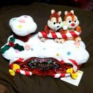 TDL 2004 Chip & Dale Christmas Tissue box Tissue case Tissue cover Plush doll