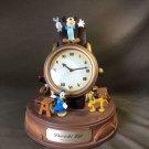 1900s Mickey & Friends Big table clock Gimmick melody desk clock Daiichilife