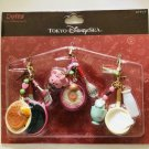 Tokyo Disney Sea Duffy & Shelley May & Gelatoni Strap Set Mascot Key Chain