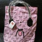 Disney store Japan Aristocats Marie Handbag Waterproof bag Pink ribbon Nylon