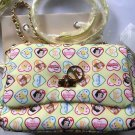 Disney & Samantha Vega Princess Chain Shoulder Bag Pochette Yellow Snow White Be