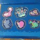 Tokyo Disneyland 18th Anniversary Electrical Parade Dreamlights Pin Badge Set