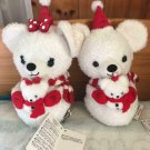 Tokyo Disney Resort 2013 Christmas unibearity Mickey & Minnie Mouse  Plush Toy