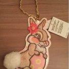 Tokyo Disneyland 2016 Easter Miss Bunny Pass Case Card Case Holder Strap