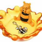 Disney Store Winnie the Pooh Accessory Tray Charm Jewelry Case Honey Hunt