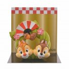 Disney Store Japan 2020 Happy New Year Chip & Dale Mascot Ornament Doll Figure