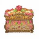 Disney Store Beauty & the Beast Bell Accessory Case Treasure Box Jewelry Box