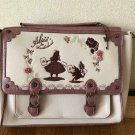 Axes femme Disney Alice 3way Tote Bag Shoulder bag Hand Backpack White Rabbit