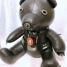 Disney STAR WARS × COACH Darth Vader Bear Leather Plush doll Limited Edition Bla