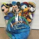 Tokyo Disney Sea Grand Opening Globe Plush doll Mickey Mind Donald Goofy