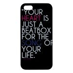 Apple Iphone 5s Premium Hardshell Case (Your Heart )