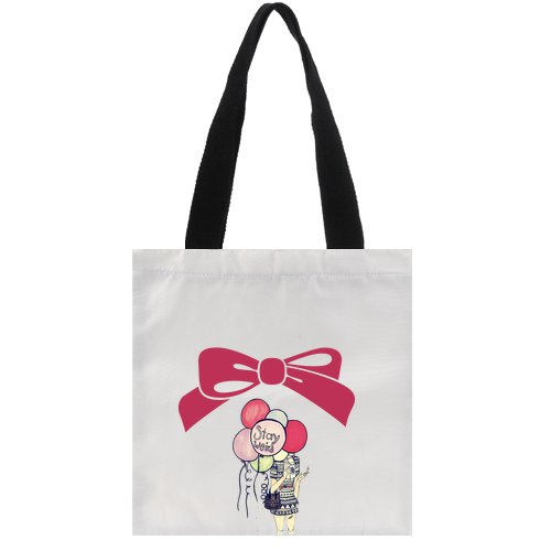 Tote Bag_Pink_StayWord