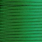100ft GREEN Paracord Mil Spec 550 lb Type III 7 strand parachute cord commercial grade