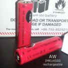 2 pcs AW IMR 14500 700mAh battery vape Mechanical Mods cig