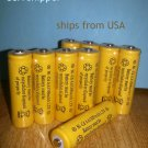 LOT48 AA NiCad 900mAh Ni-cd 1.2v Batteries rechargeable solar lawn led flashlight