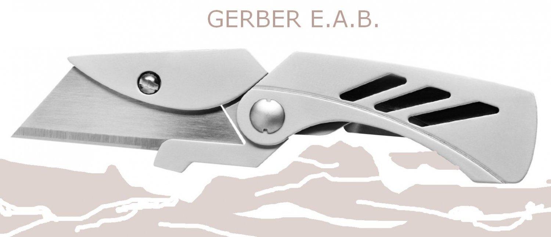Gerber 31-000345 E.A.B. Lite Pocket Knife Exchange A Blade Fine Edge